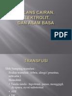 Presentasi Balans Cairan, Elektrolit, Asam Basa