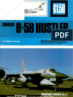 (Warpaint Series No.4) Convair B-58 Hustler and Variants