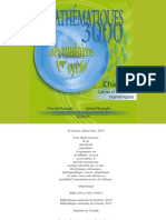 mathématiques 3000