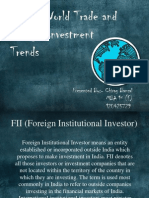 Recent World Trade and Foreign Investment India.pptx