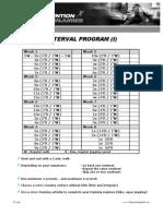 Interval Program i 2