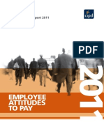 CIPD Pay Attitudes 2011