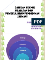 Kaedah Dan Teknik Pengajaran Dan Pembelajaran PJ