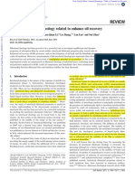 Interfacial Dilatational Rheology Related to Oil Recovery