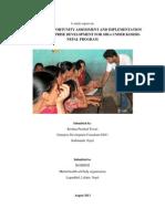 Feasibility assessment for enterpreneurship development and Implementation guide for Koshish Program.pdf