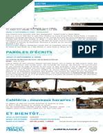 La Lettre de l'IFM Du 15 Au 20 Septembre 2013