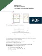 Design of Input Gear-shaft-exampler