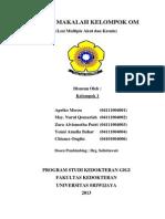 Lesi Multipel Akut Dan Kronis (Kelompok 1)