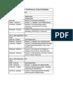 NQC 2013_ Event Schedule