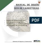 Manual de Diseño Geometrico de carreteras
