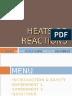 Heats of Reactions