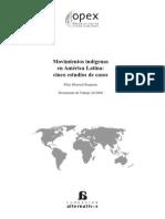 13.Movimientos Indigenas en America Latina, Cinco Estudios de Caso.monreal