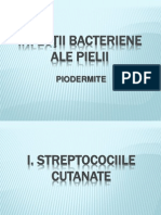 LP 4 -Infectii Bacteriene Ale Pielii-Piodermite