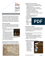 BearEssentials - Primary and Secondary Sources