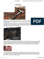 The Formation of Iron - Minerals Downunder - Australian Mines Atlas