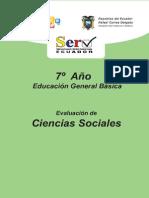 Modelo Prueba Estudios Sociales Septimo
