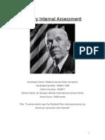 IB History Internal Assessment