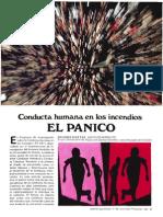 Articulo 1 Conducta Humana en Los Incendios El Panico