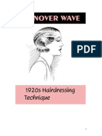 Vintage Hairstyle - The Turnover Wave