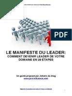 Manifeste Du Leader[1]