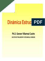Dinamica Estructural Ph.D. Genner Villarreal Castro