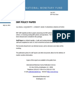 GLOBAL LIQUIDITY—CREDIT AND FUNDING INDICATORS