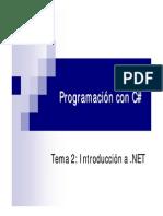1. Arquitectura Net