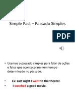 Simple Past – Passado Simples