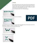 How to Make Ambigram