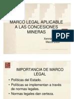 Dra Xennia Forno-Marco Legal Concesiones Mineras