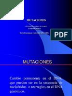 mutaciones 2012