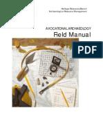 Avocational Archaeology Manual