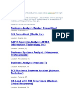 13434058 Business Analyst Jobs From JobsBridge