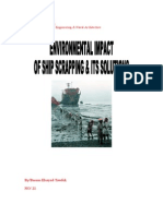 ENVIRONMENTAL IMPACT 