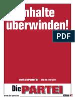 Regierungsprogramm_2013 Die Partei