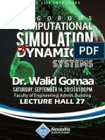 Alexandria ACM SC | Rigorous Computational Simulation of Dynamical Systems