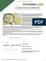La Desinformacion Como Arma en El Conflicto Sirio - Webislam