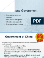 2.2 Chinese Goverment and Regulations (1)