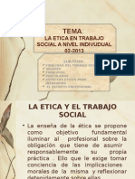 3o.la Etica en Trabajo Social De