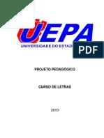 Projeto Político Pedagógico - Letras Língua Portuguesa - Universidade do Estado do Pará