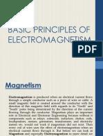 Basic Principles of Electromagnetism1