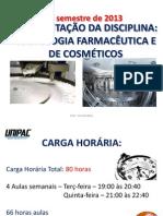 2013_Apresentação_Tecnologia_Farmacêutica