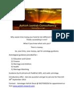 Ashish Jyotish Consultancy