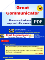Great Communicator Humorous Bp