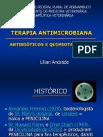ANTIBIÓTICOS E  QUIMIOTERÁTICOS Terapêutica (1)