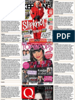 Music Magazine Annotations