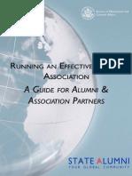 Running an Effective Alumni Association Current