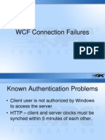 OPC .NET 3.0 (WCF) Common Connection Failures