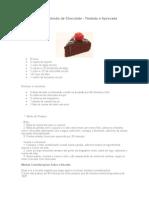 Receita de Bolo Alemão de Chocolate