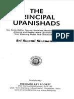 The Principal Upanishads 2012 Edition by Swami Sivananda